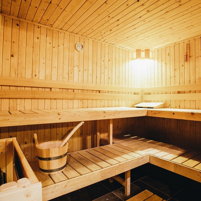 Rives sauna