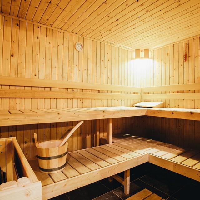 Rives sauna